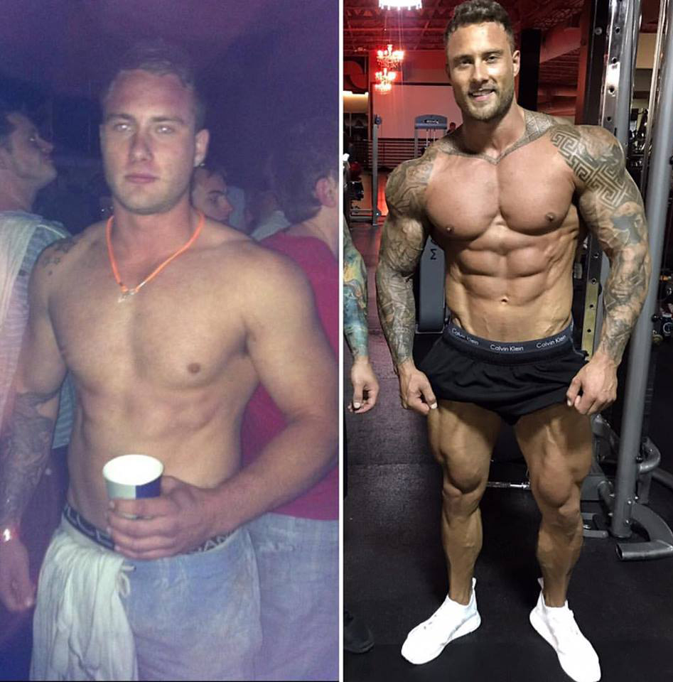 zac smith before and after