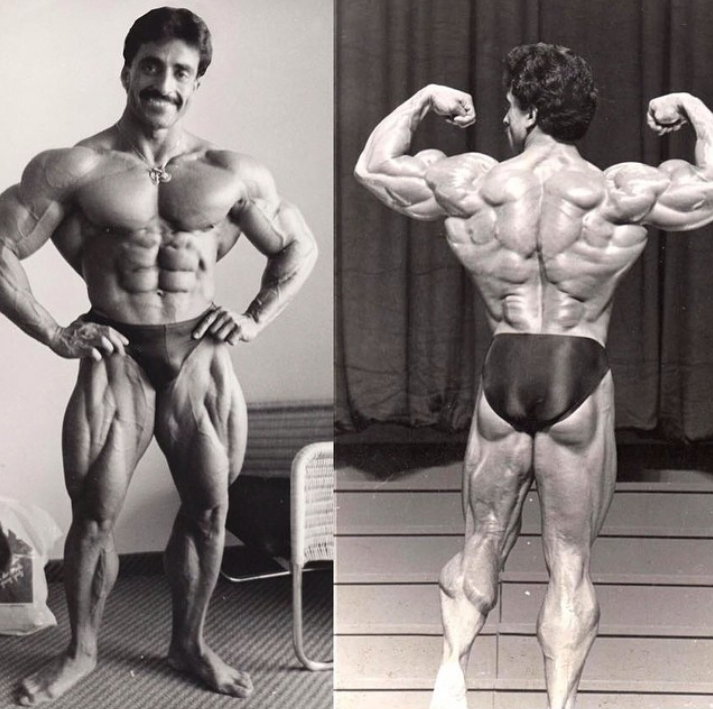 Samir Bannout first competition