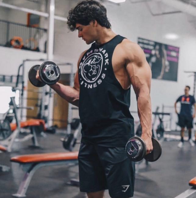 Dylan McKenna fitness workout