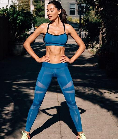 Oksana Rykova fitness
