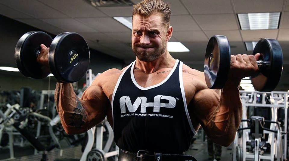 Chris Bumstead fitness