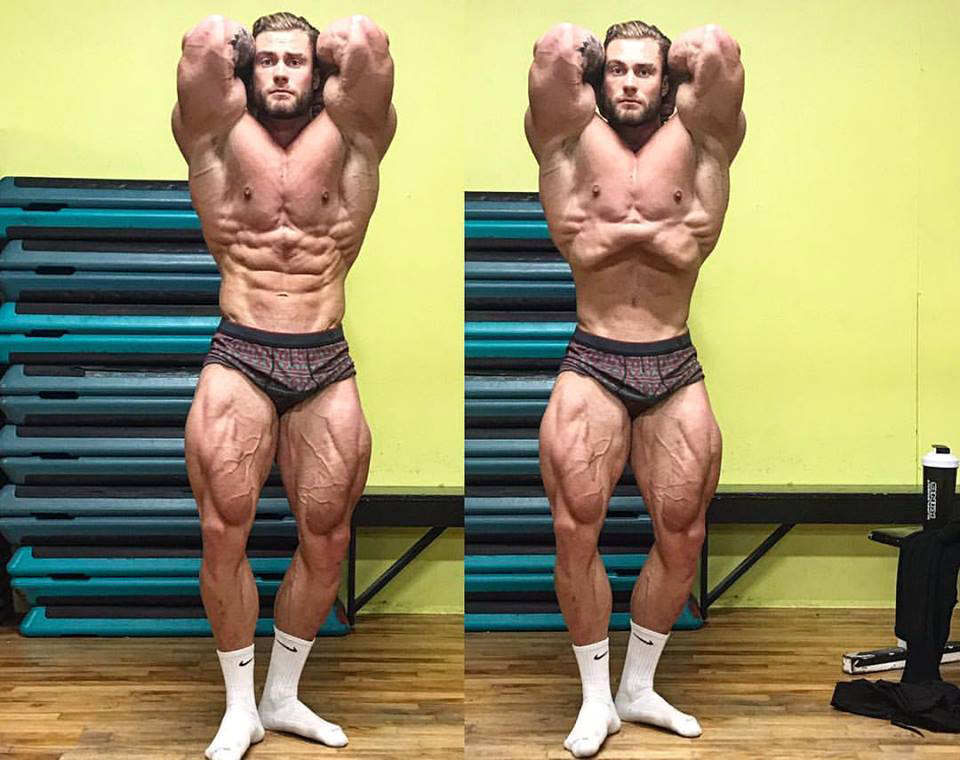 Chris Bumstead workout and bodybuilder