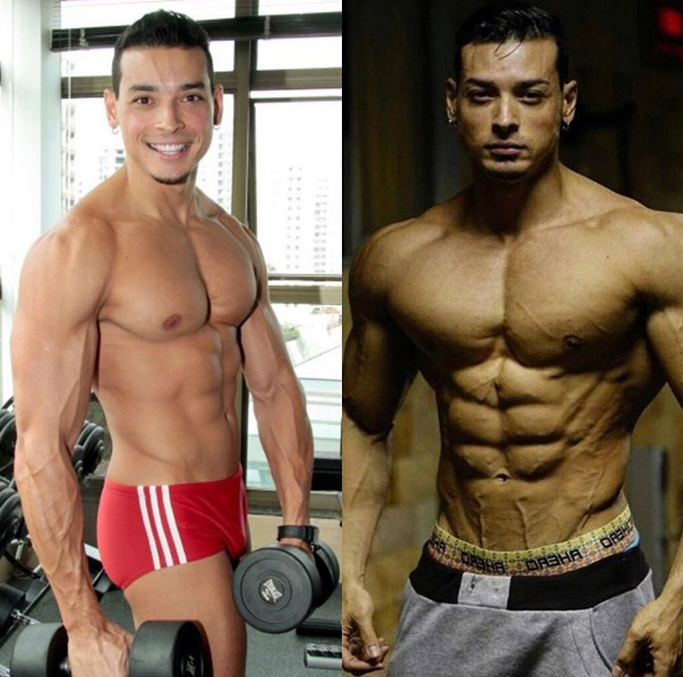 Felipe Franco before and after