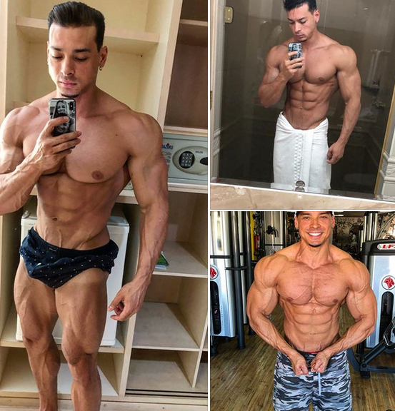 Felipe Franco bodybuilder and fitness model