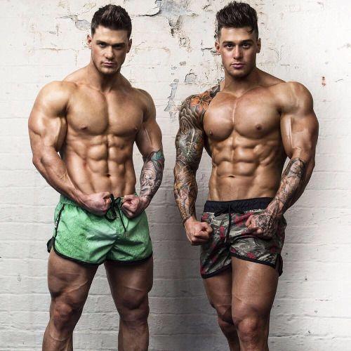 Lewis Harrison and Owen Harrison