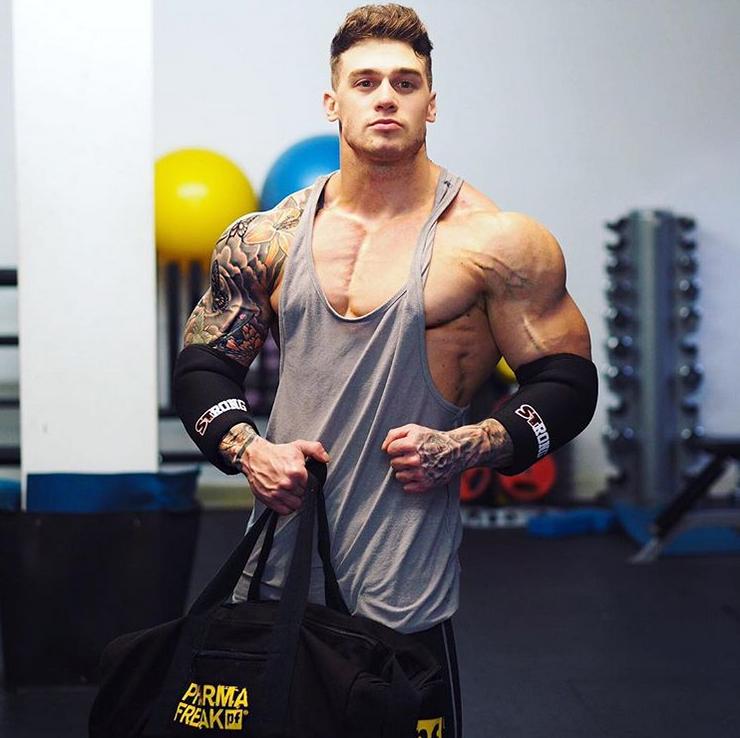Lewis Harrison workout routine