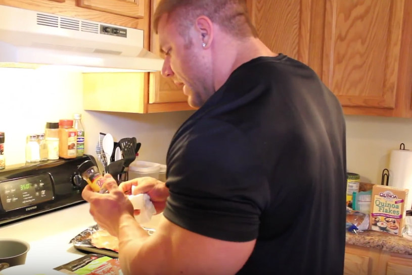 justin compton Food Plan and Diet