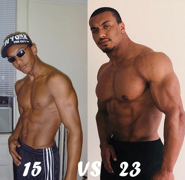 Larry Wheels before and after