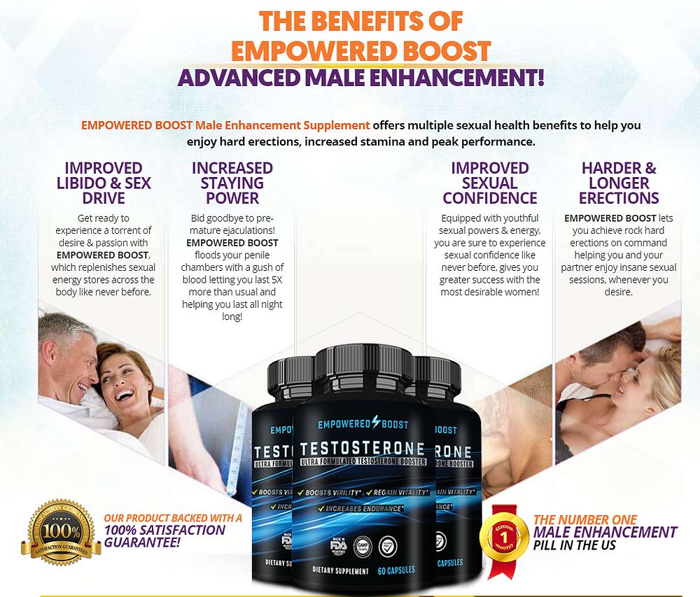 Empowered Boost pills