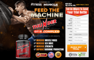 Thunder Testosterone reviews